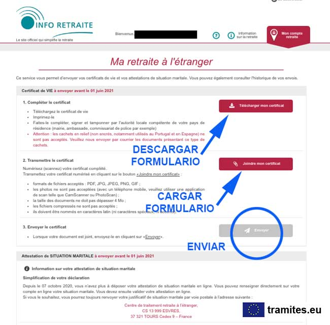 info retraite pension 2