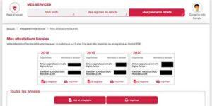 Cómo obtener el justificante de pago de pensión de Francia para la Declaración de la Renta